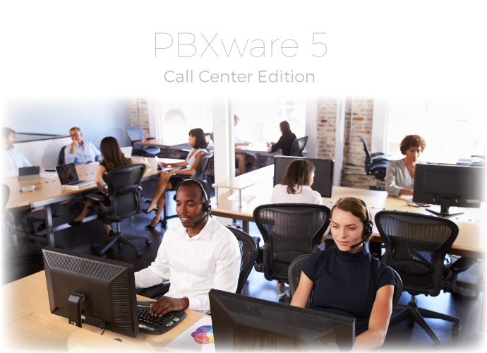 call center voip pbx software