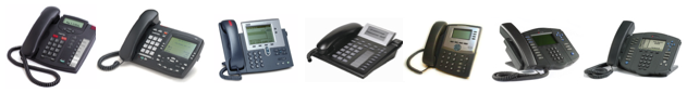 pstn legacy phones by linksys, yealink, aastra, panasonic