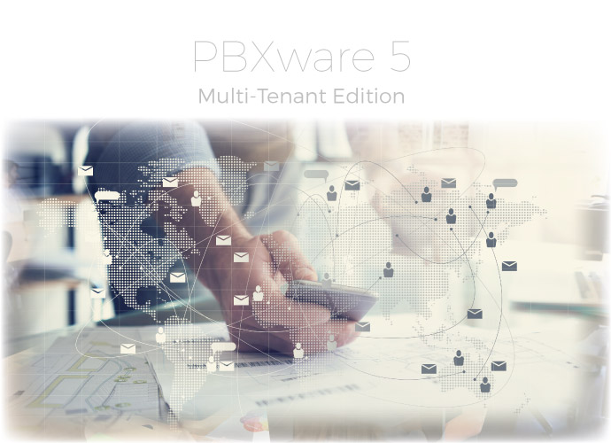 multi tenant ip pbx system