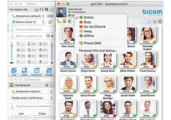 gloCOM business unified comms ip pbx app
