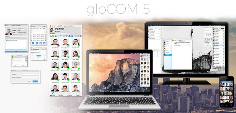 gloCOM, gloCOM Desktop, gloCOM GO