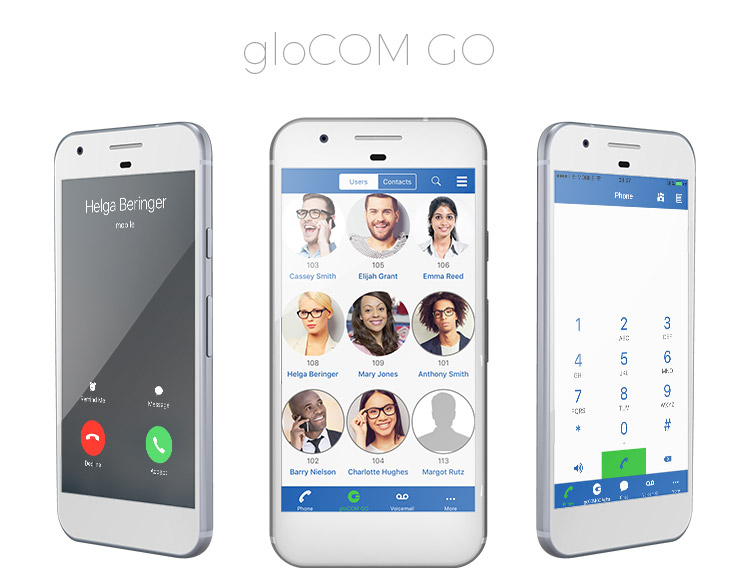 Business Unified Communications app