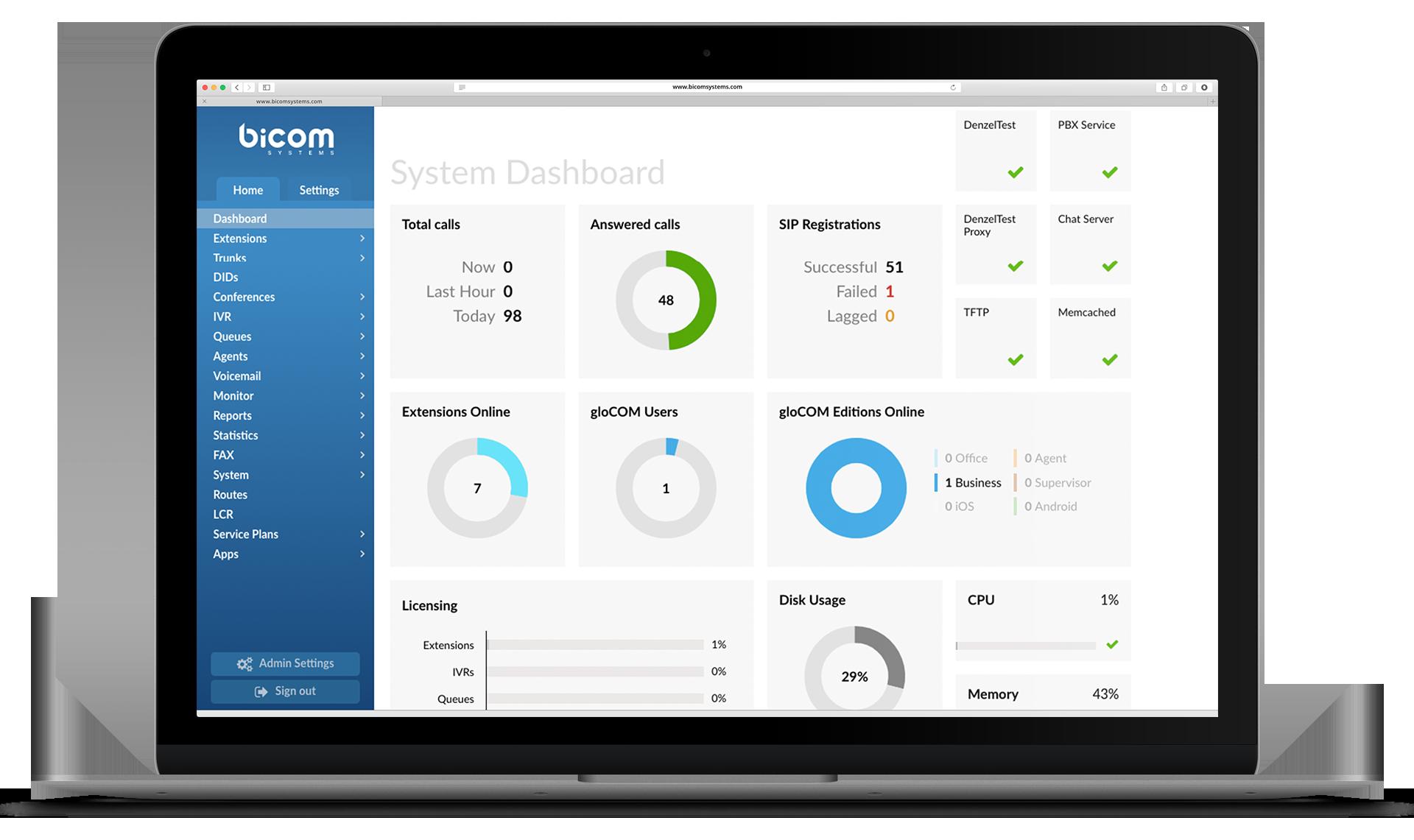 Bicom Systems - Test - Bicom Systems