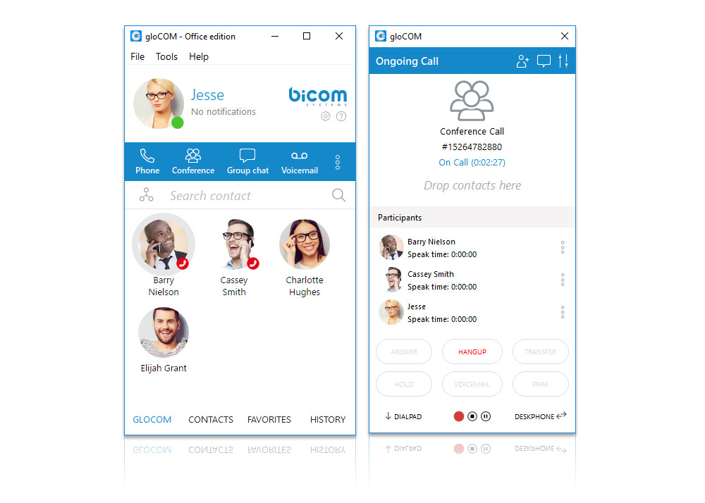 gloCOM - Office Unified Communications - Conferencing